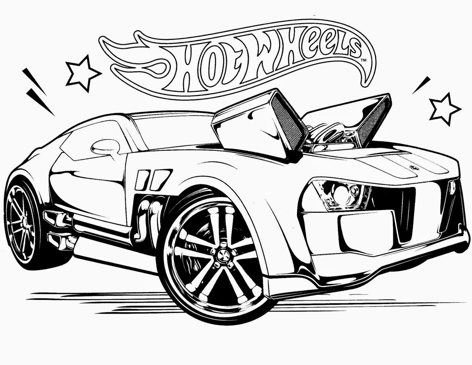 Pin By Ed On Coloring Car Cars Coloring Pages Hot Wheels Cars Hot Wheels Races
