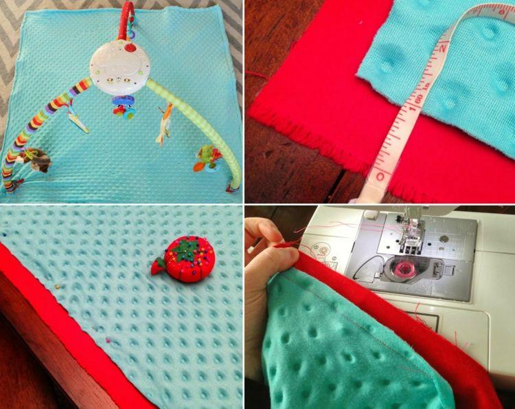 Krabbeldecke Mit Spielbogen Selber Machen Tolle Ideen Und