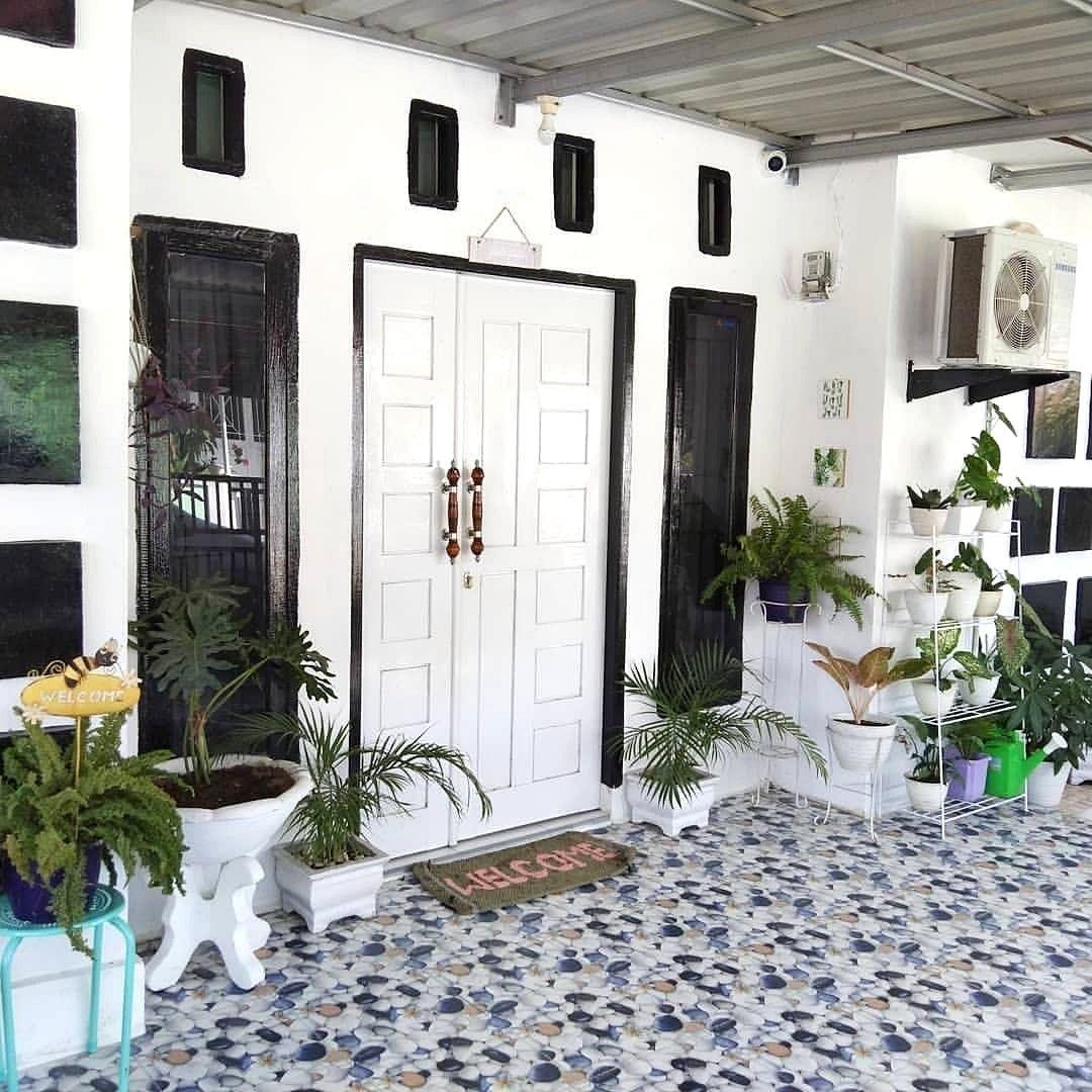 Design Rumah Idaman Rak Pot Minimalis Untuk Teras Rumah Ide Berkebun Bunga Pot Bunga