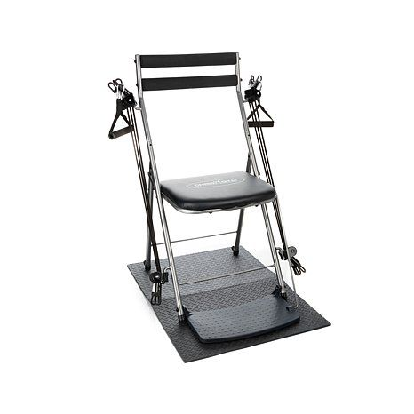 Shop Chair Gym Deluxe Exercise System With Twister Seat Mat 5 Workout Dvds And 1 Year Self Magazine Read Customer Reviews And Chair Shop Chair Workout Dvds