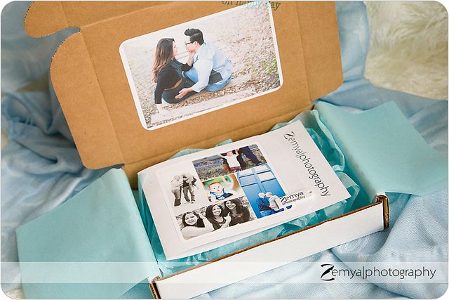 Photography USB packaging from Zemya Photography