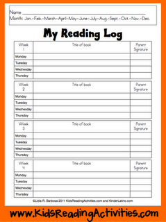 1000+ images about Reading Logs and Homework on Pinterest | Book ...