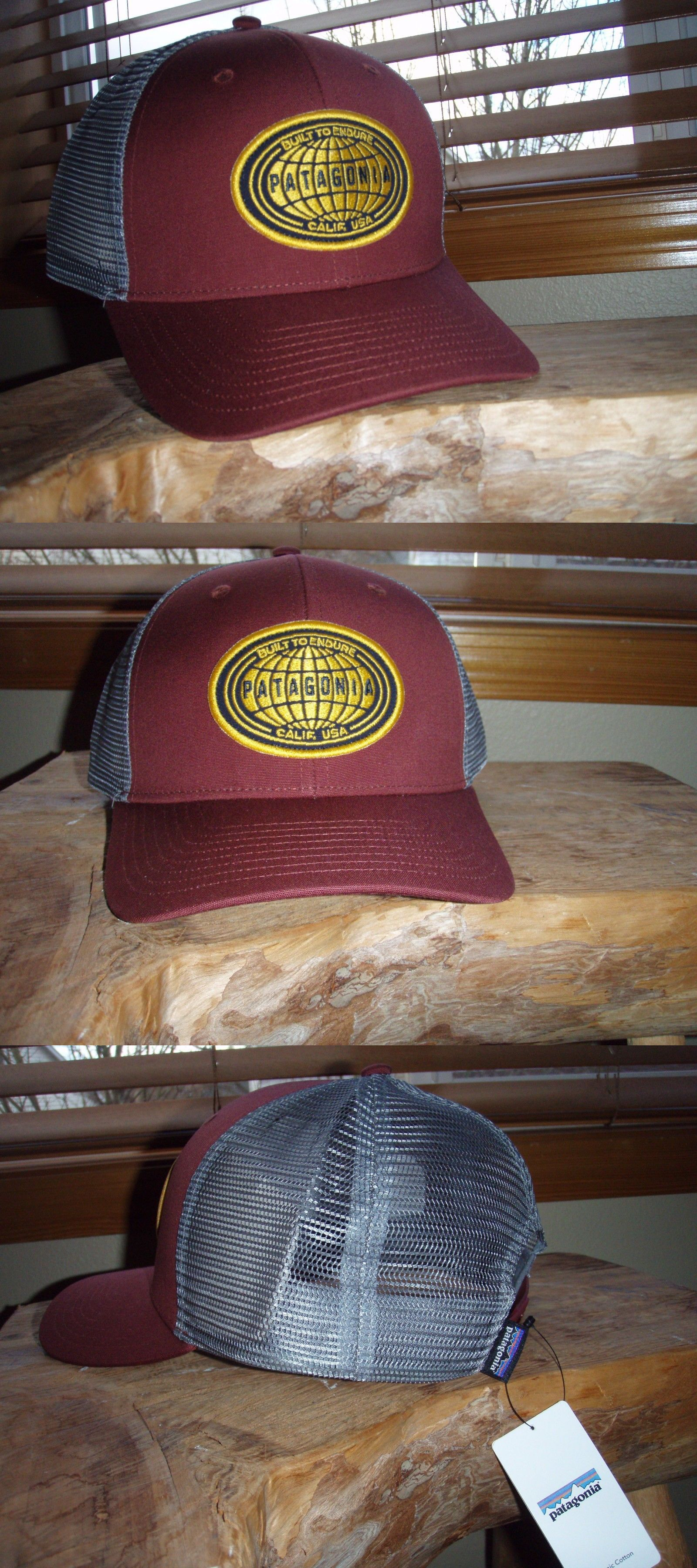a69d20ec4be Hats and Headwear 70810  Patagonia Ratitude Rust Brown Trucker Hat BUY IT  NOW ONLY