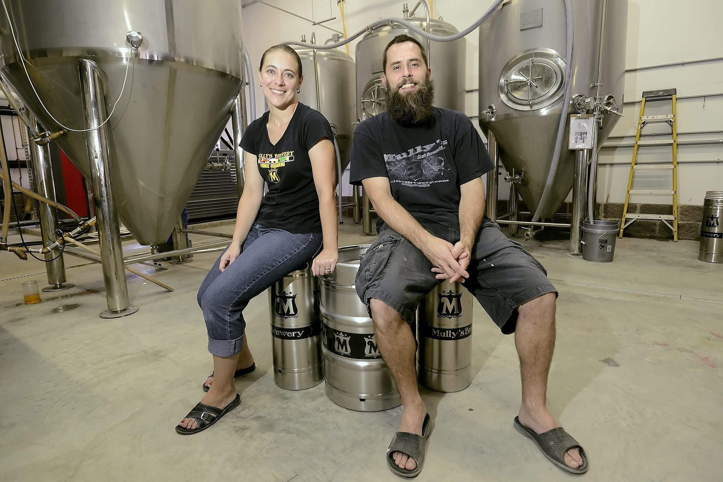Cindy Mullikin, co-founder of Mully's Brewery in Marlyand.