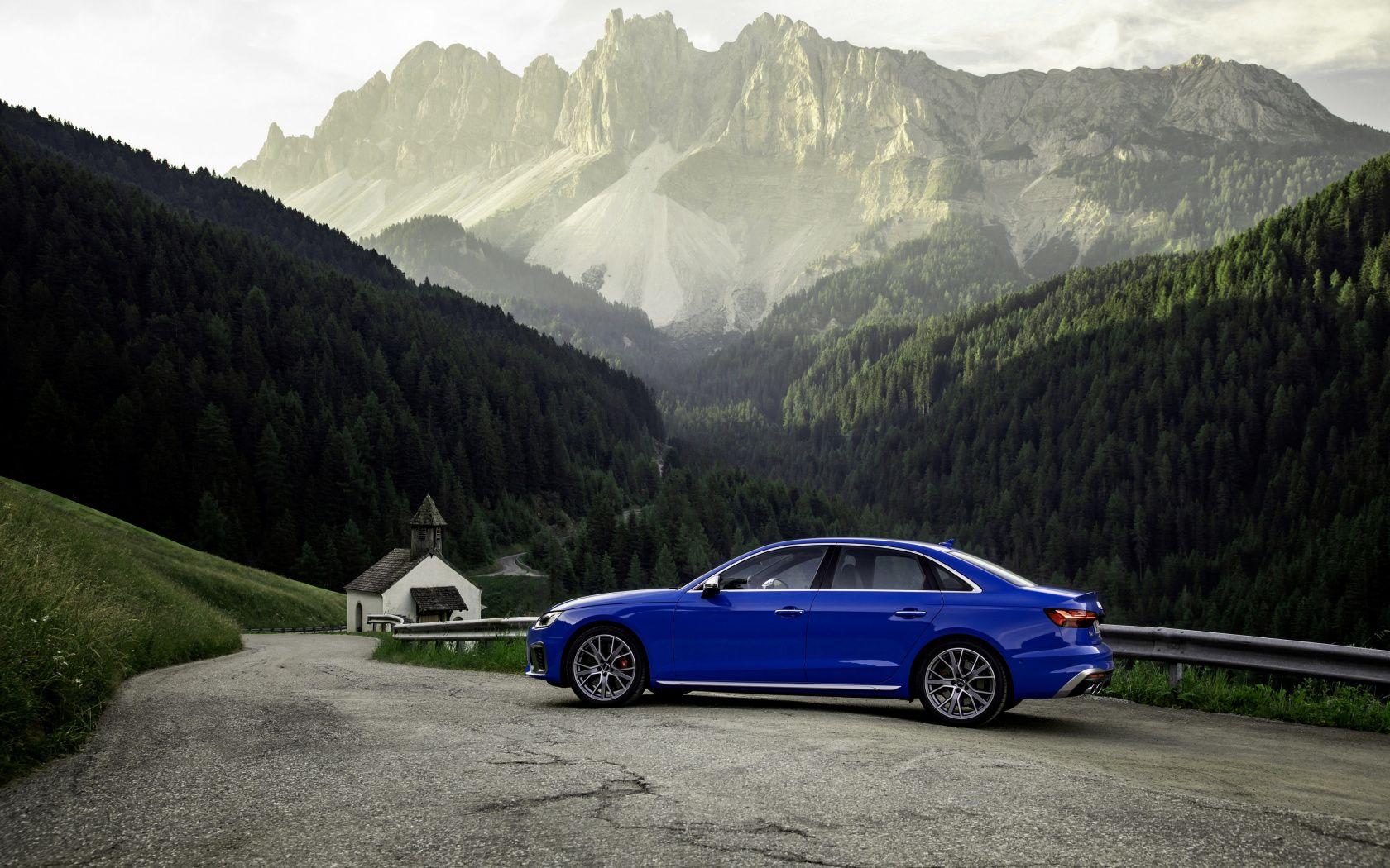 1680x1050 Blue Car Audi S4 Off Road Wallpaper Blue Car Audi S4 Offroad