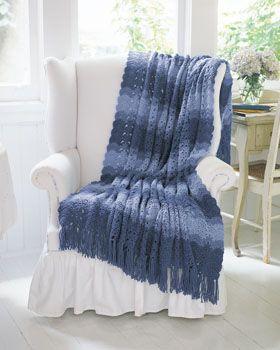 Ocean Crochet afgano