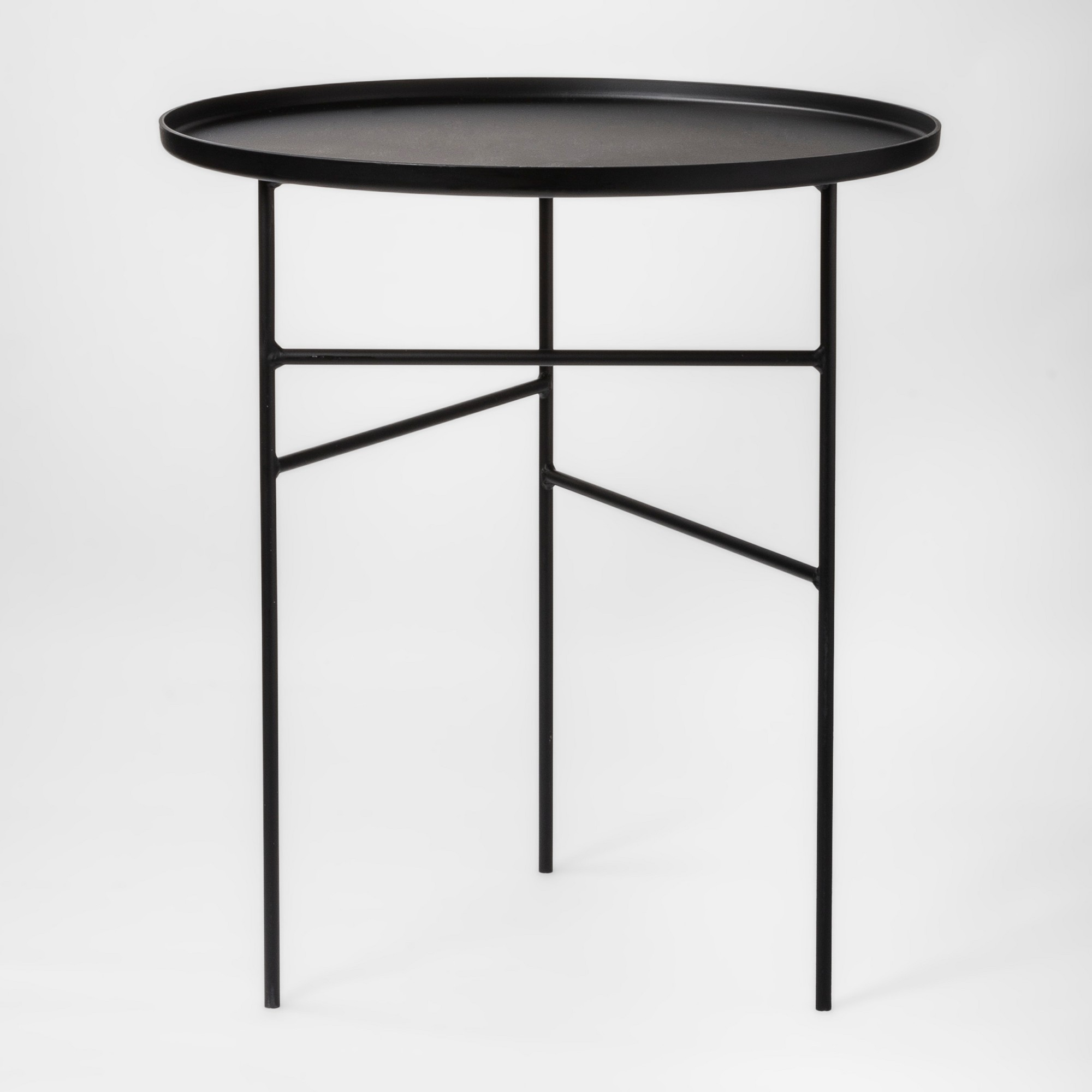 Elgin Accent Table Black Project 62 Metal Accent Table Round Metal Side Table Home Decor Sale