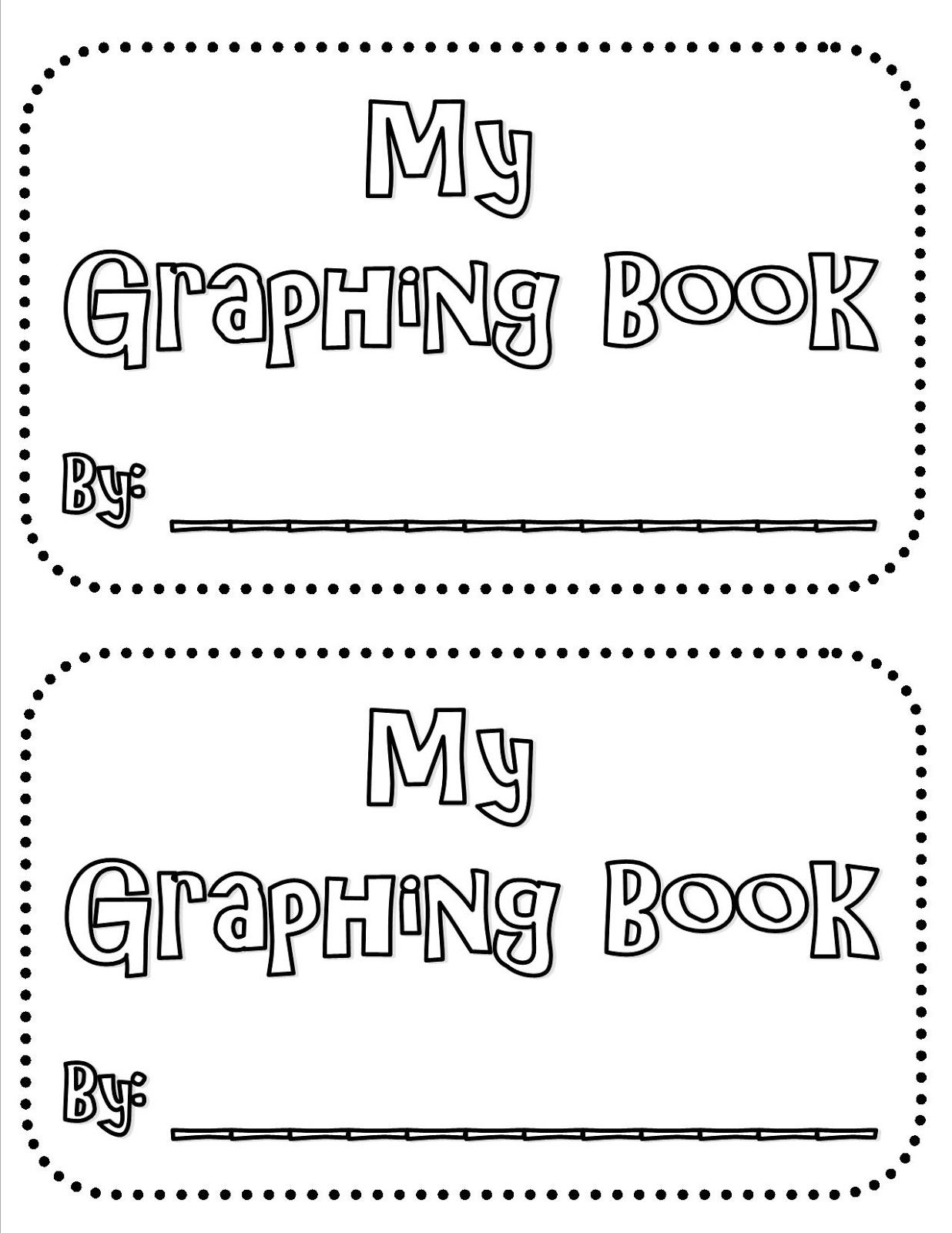Graphing Mini Book FREEBIE 1st-3rd Grade Common Core