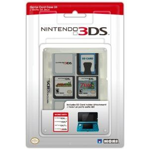 Nintendo 3ds Game Card Case 24 Clear Christmas Gift Ideas