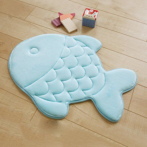 Best Kictchen Rugs Ab Crew Fish Shaped Memory Foam Mat Rug For