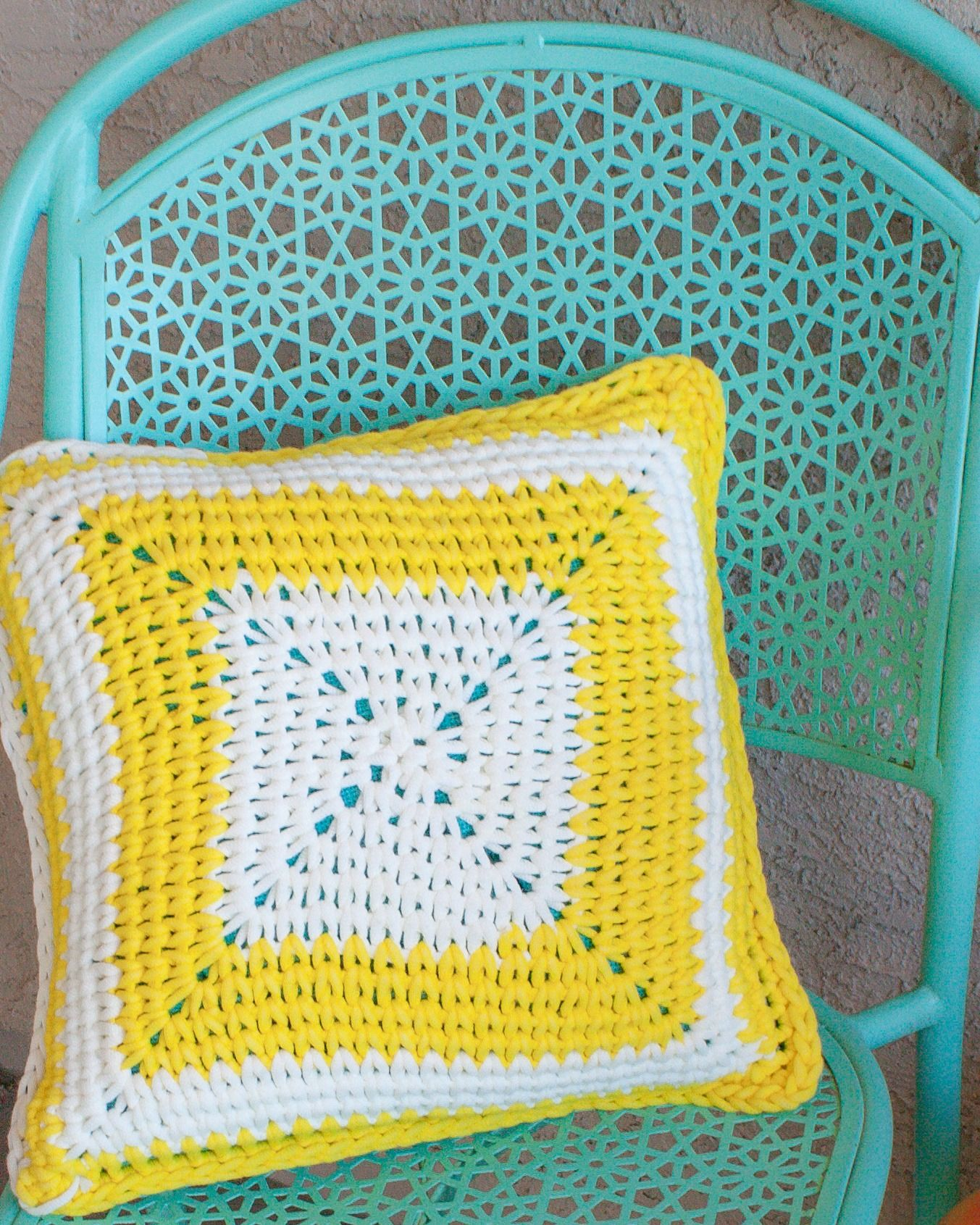 The Sunshine Patio Pillow Is An Excellent Way To Brighten