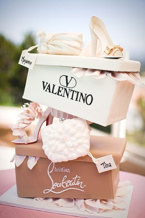 Christian Louboutin Shoe Cake Birthday Cakes Pinterest Shoe - Stylish birthday cakes
