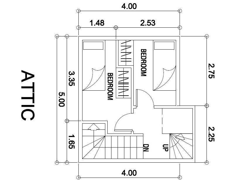 Attic bedroom floor plans small attic apartment floor plan dream house architecture decor - Small attic house plans ...