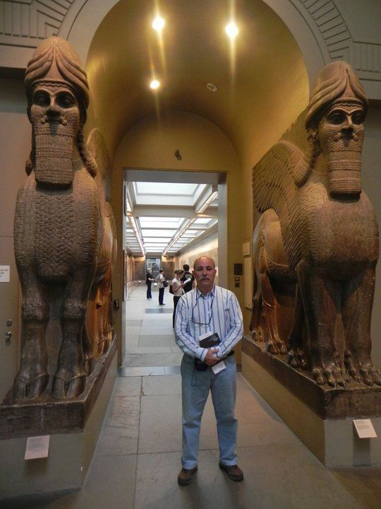 En Londres, en el Brithis Museum.