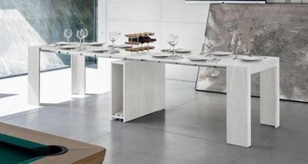 Paoletti Industria Mobili Roma.Consolle E Tavolini Trasformabili Paoletti Industria