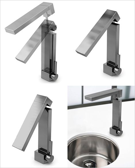 ritmonio-folding-faucet.jpg | Faucets | Pinterest | Faucet, Taps and ...