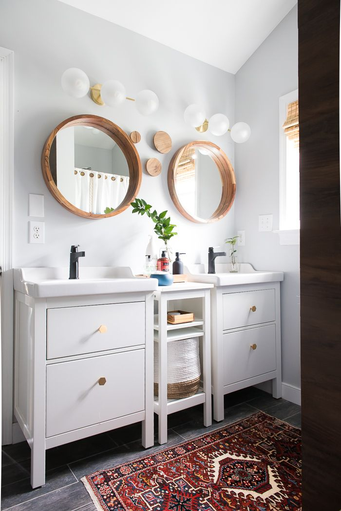 Master Bathroom Huge master bathroom update. not complicated but makes a huge
