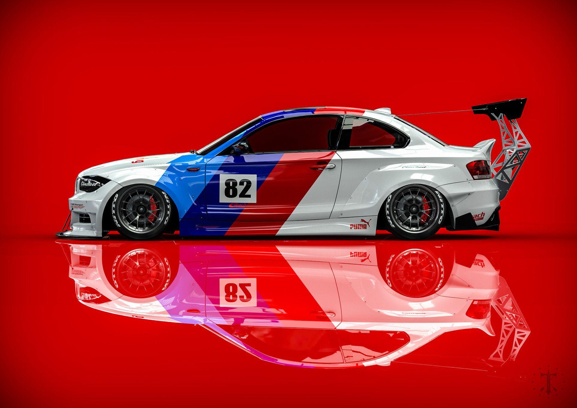 ArtStation BMW 1 Series Clinched, Kasim Tlibekov Mobil