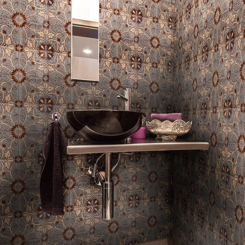 Our Crossings Ceramic Tile Collection Fuses The Elegance And