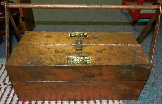 1930 S Snapon Cantilever Tool Box By Corisvintagevariety On Etsy 159 00