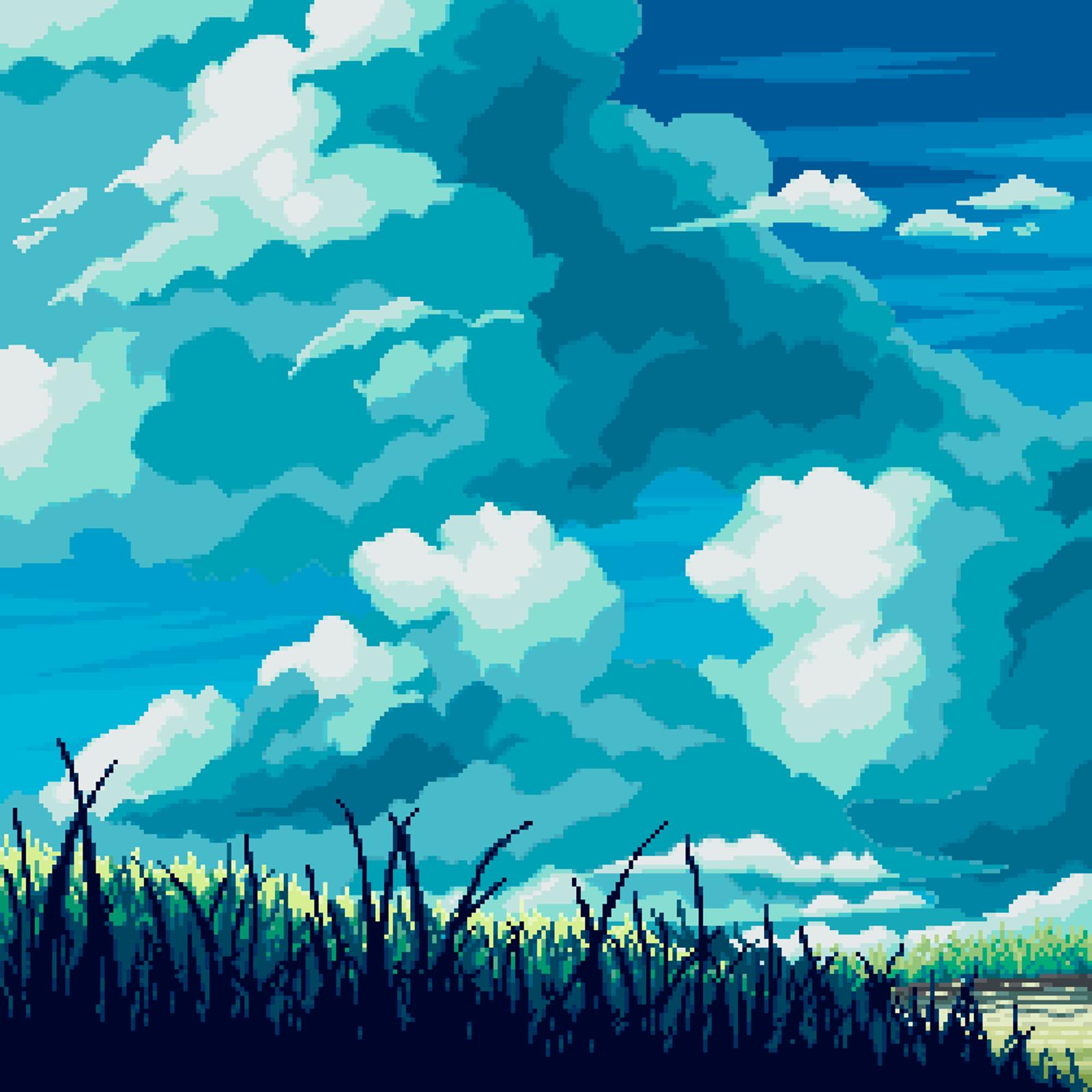 Pixel Art Background, Scenery