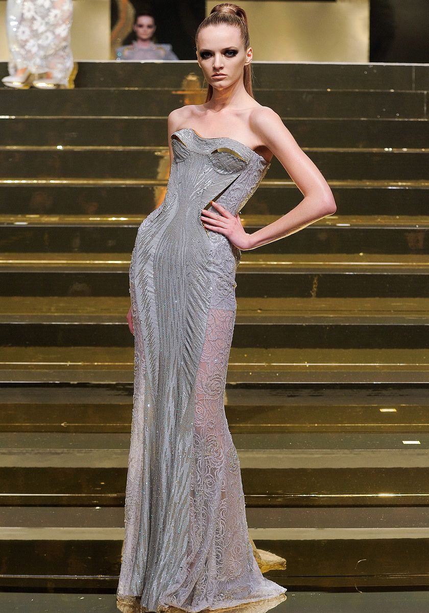 Versace Spring 2012 collection. Strong return to Paris couture ...
