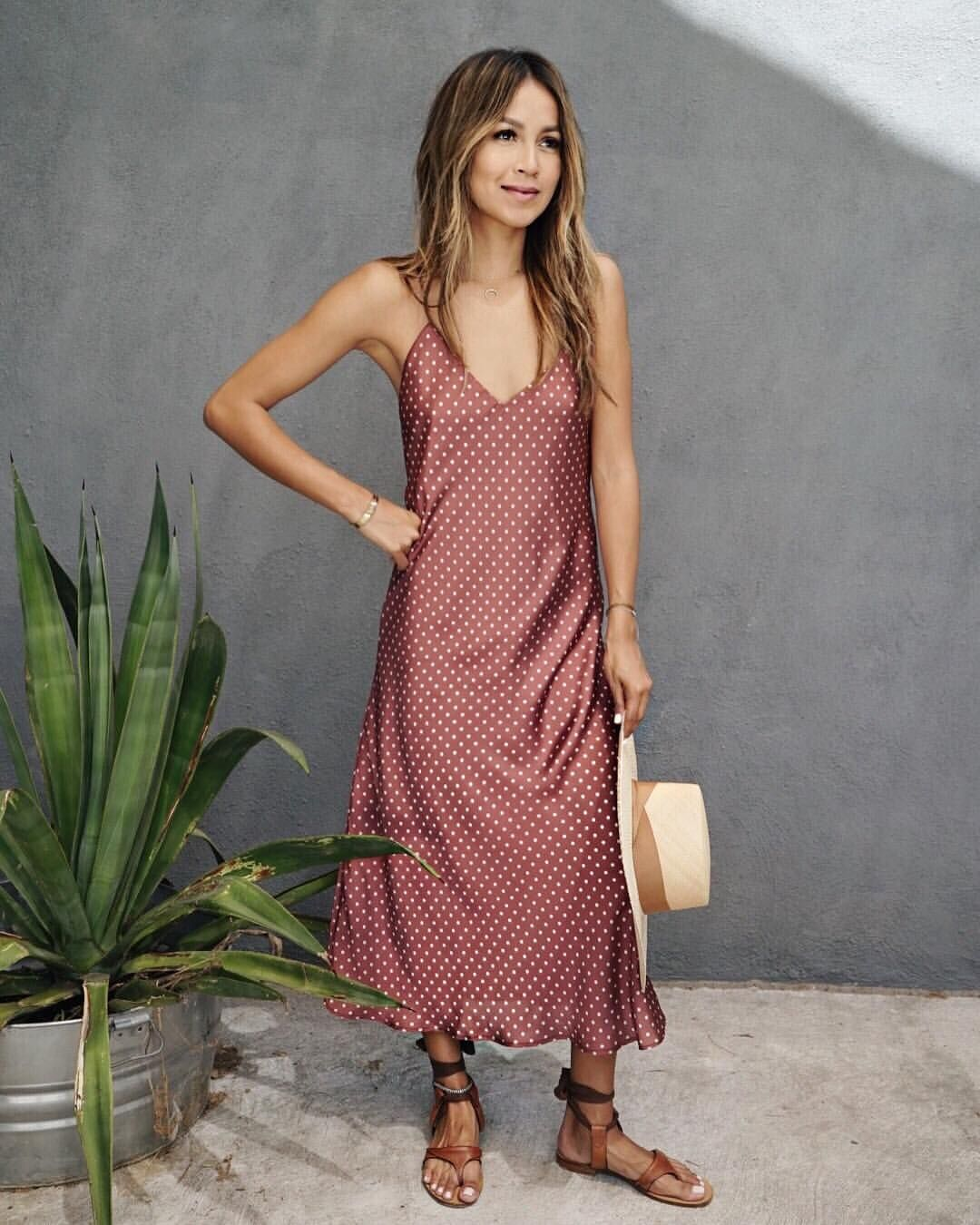 "b4735739b81 Shop Sincerely Jules on Instagram  ""New in  Charmer Slip Dress ..."