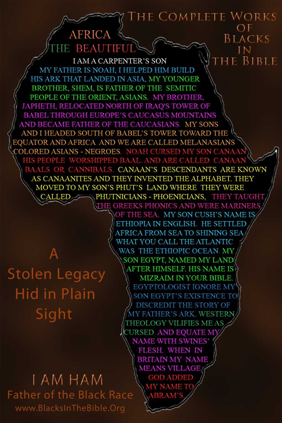 black history facts in the bible
