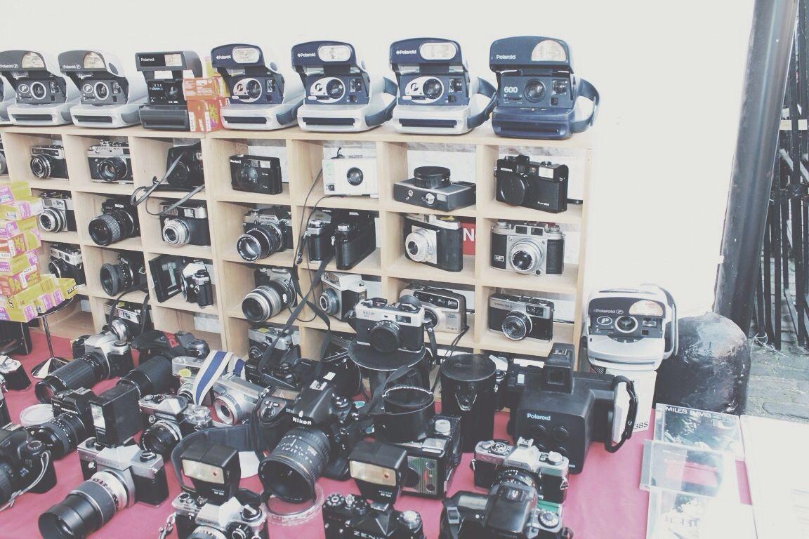 Vintage Camera Stall (Camden 2013)