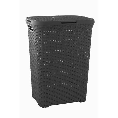 The Rattan Laundry Hamper Fits Seamlessly Into Any Room