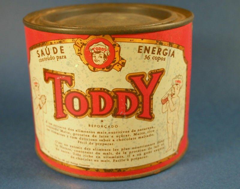 Toddy em pó para misturar no leite