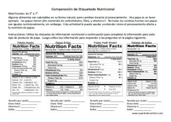 Worksheets Nutrition Label Worksheet nutrition label worksheet reading food labels consumerism labeling