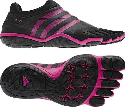 Adidas Women's adipure Trainer, V22300, Phantom/Black/Intense Pink ...