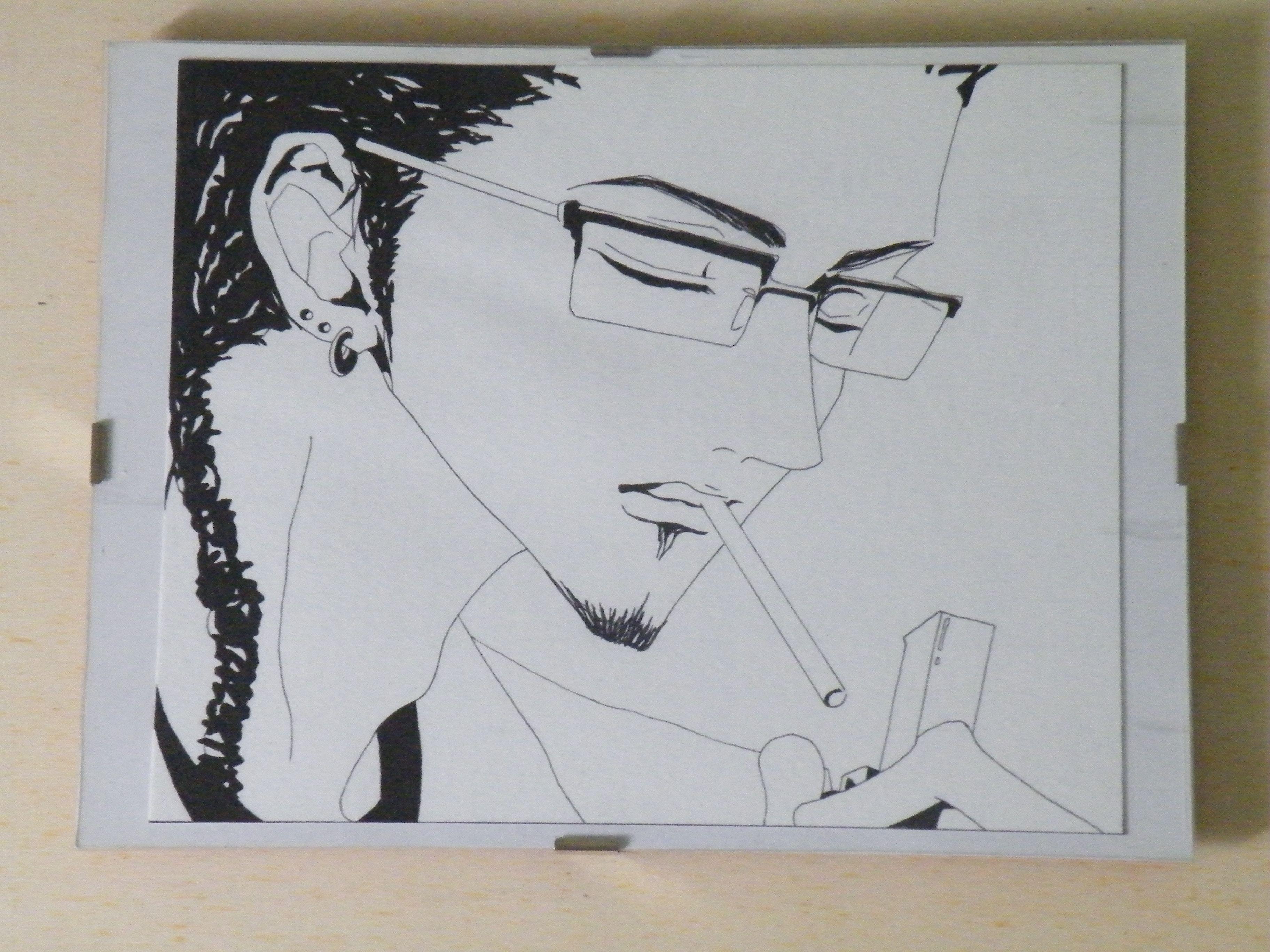 Kyosuke (Nana) Anno 2006 24x18 cm Il tratto e la