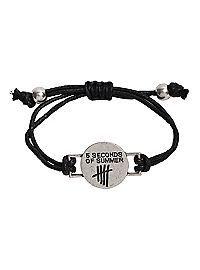 Com 5 Seconds Of Summer Cord Bracelet