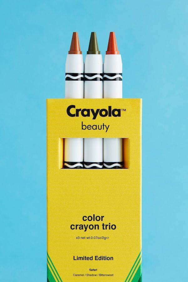what brands your makeup crayola maybe