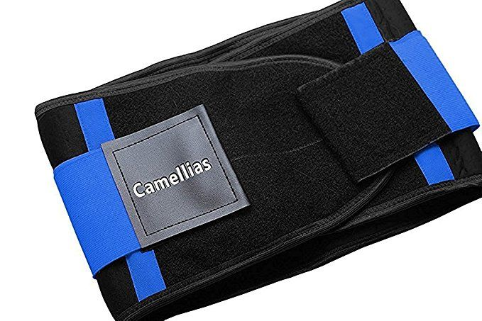 0ae2cc0f4dd Camellias Women Waist Trainer Belt Body Shaper Belly Wrap - Trimmer Slimmer  Compression Band for Weight