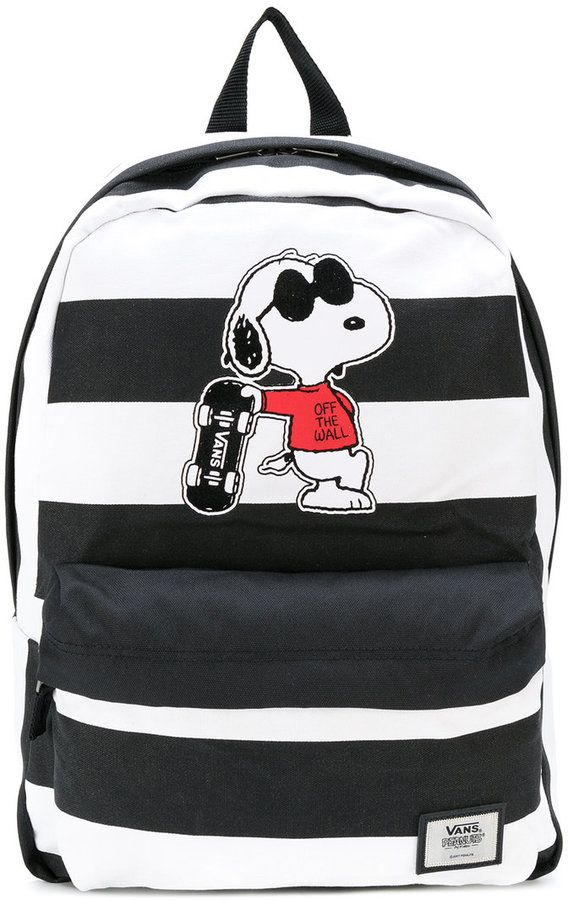 76d3c0b6f17 Vans - Snoopy patch backpack - unisex - Polyester - One Size ...