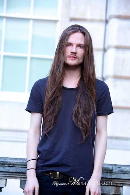 Long Hair For Men Tips On Growing Männer Frisur Pinterest