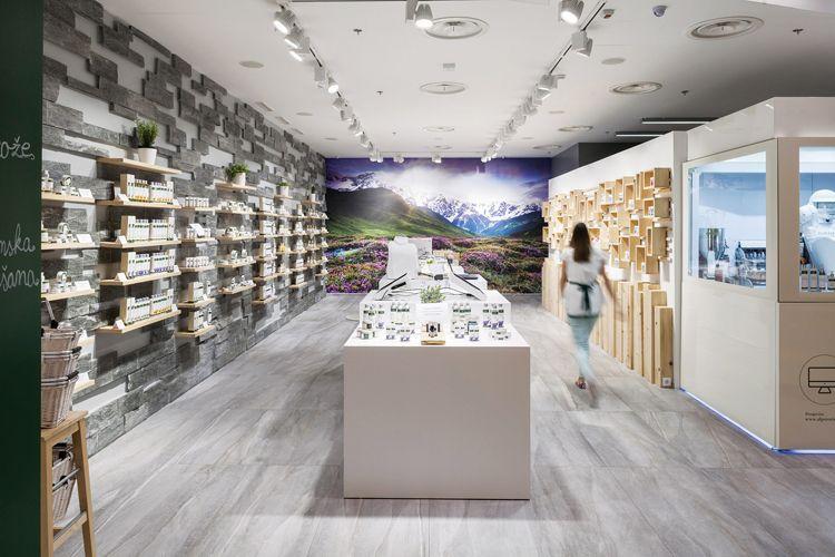 Alpstories Concept Store In Zagreb By Brigada Urdesignmag Retail Design Retail Design Blog Design