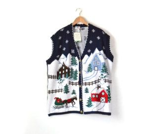 Ugly Christmas Sweater, XXL Christmas Sweater, XXXL Christmas ...