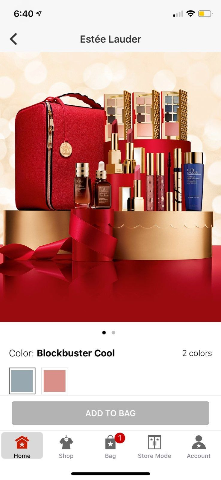 Brand New 100 Authentic Limited Edition 2018 Holiday Blockbuster Estee Lauder In Cool The Retail Value 440 Includes 12 Fu Estee Estee Lauder Bag Store