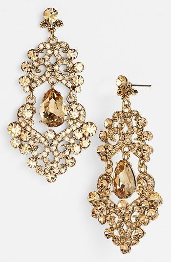 Tasha Ornate Chandelier Earrings Nordstrom