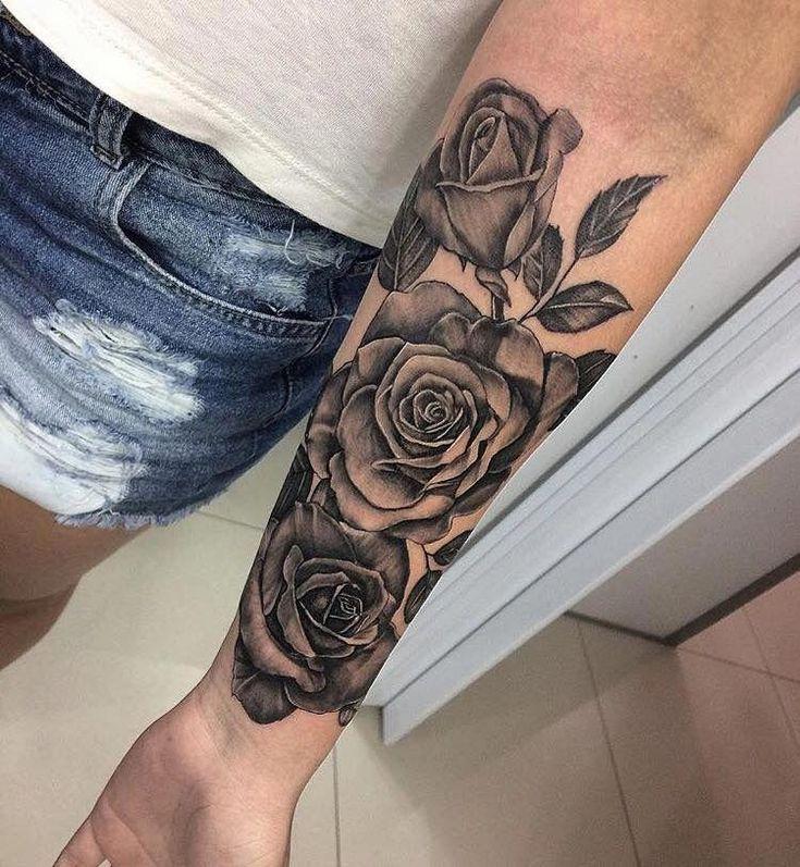 #bestgirltattoos - Tattoos 2019 | Unterarm tattoo, Tattoo