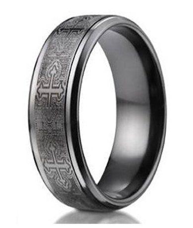 Pin On Benchmark Designer Titanium Wedding Rings