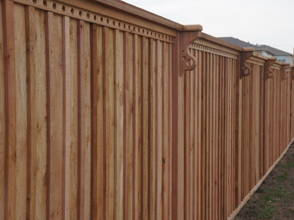 Custom Privacy Fence - Big Tex Fence and Deck fencing Pinterest