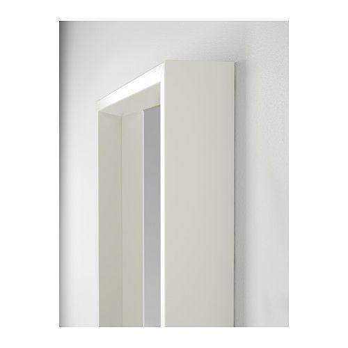 NISSEDAL Spiegel, schwarz | Spiegel weiß, Spiegel und Ikea