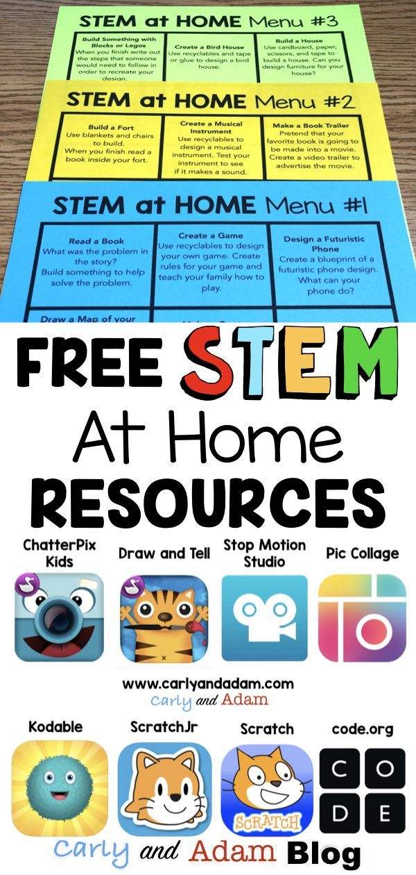 The following is a list of Free STEM challenges as well as website and apps that you can use to promote STEM learning at home! #stemathome #homeschoolThe #following #is #a #list #of #Free #STEM #challenges #as #well #as #website #and #apps #that #you #can #use #to #promote #STEM #learning #at #home! ##stemathome ##homeschool #stem
