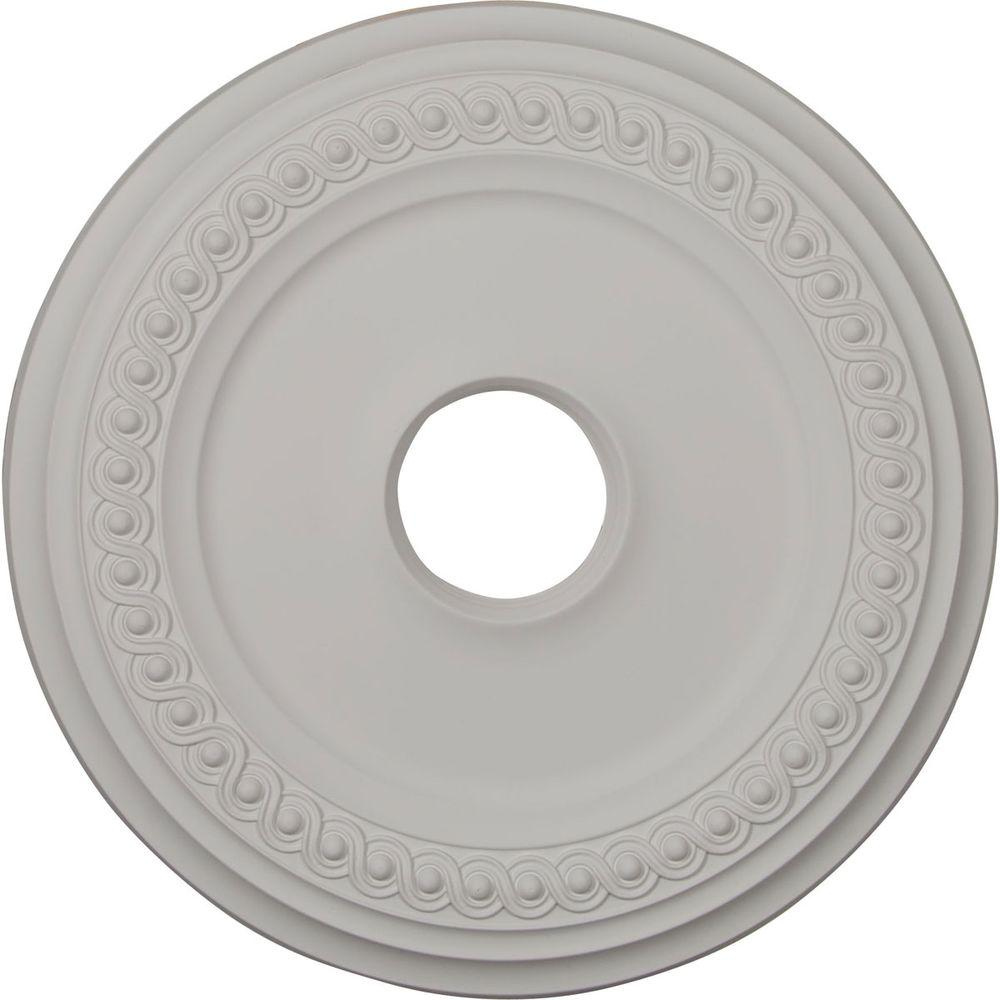 millwork classic medallion on ekena high ceiling pin