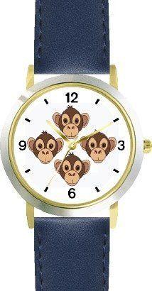 Four Monkeys Heads Monkey Cartoon Jp Animal Watchbuddy